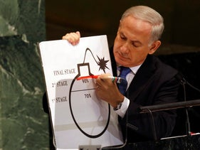 Netanyahu's speech to the UN General Assembly on Iran, 27 September 2012