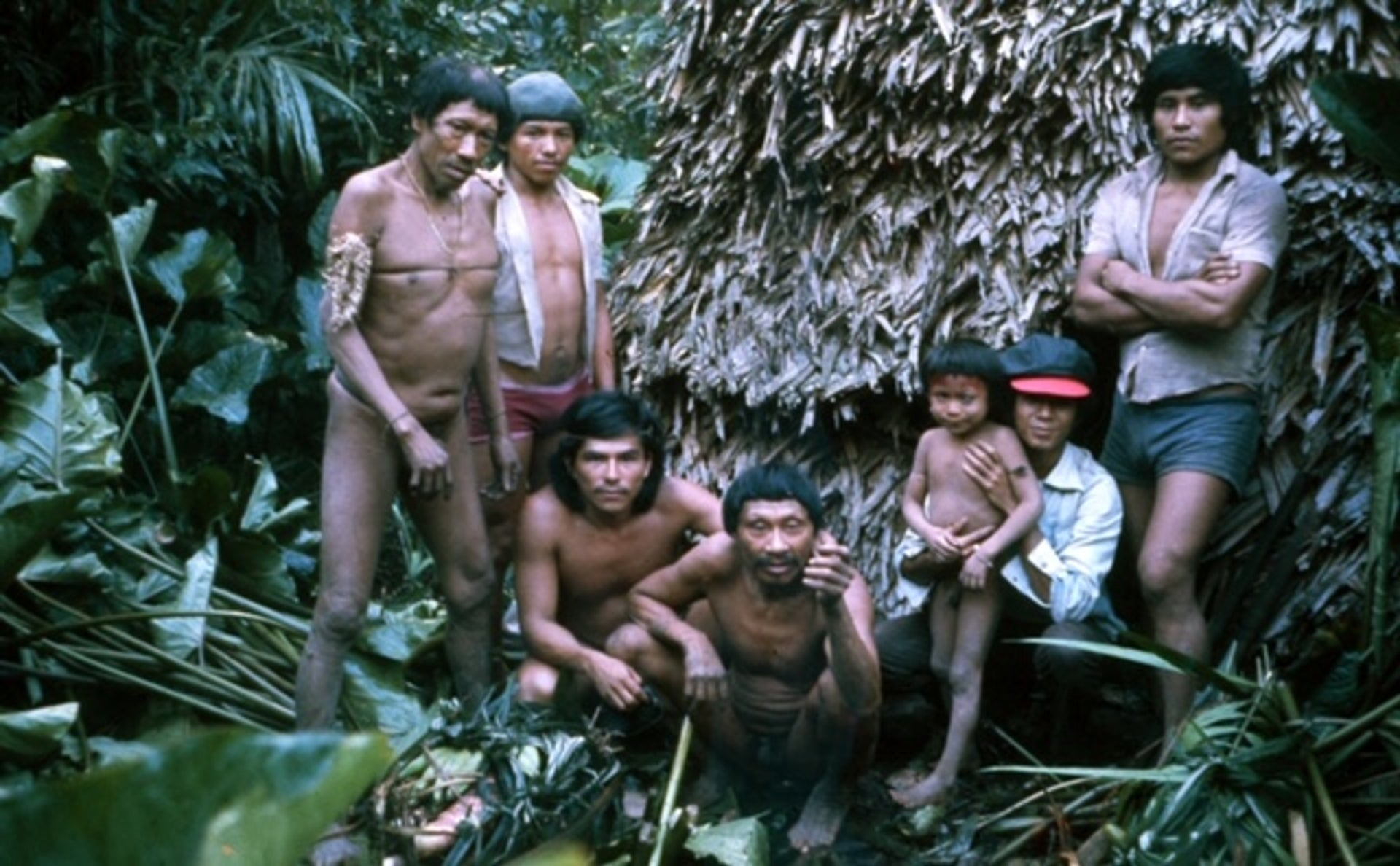 The first encounter with the Maia tribe.