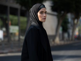 "Niv Sultan as Mossad spy Tamar in ""Tehran."""