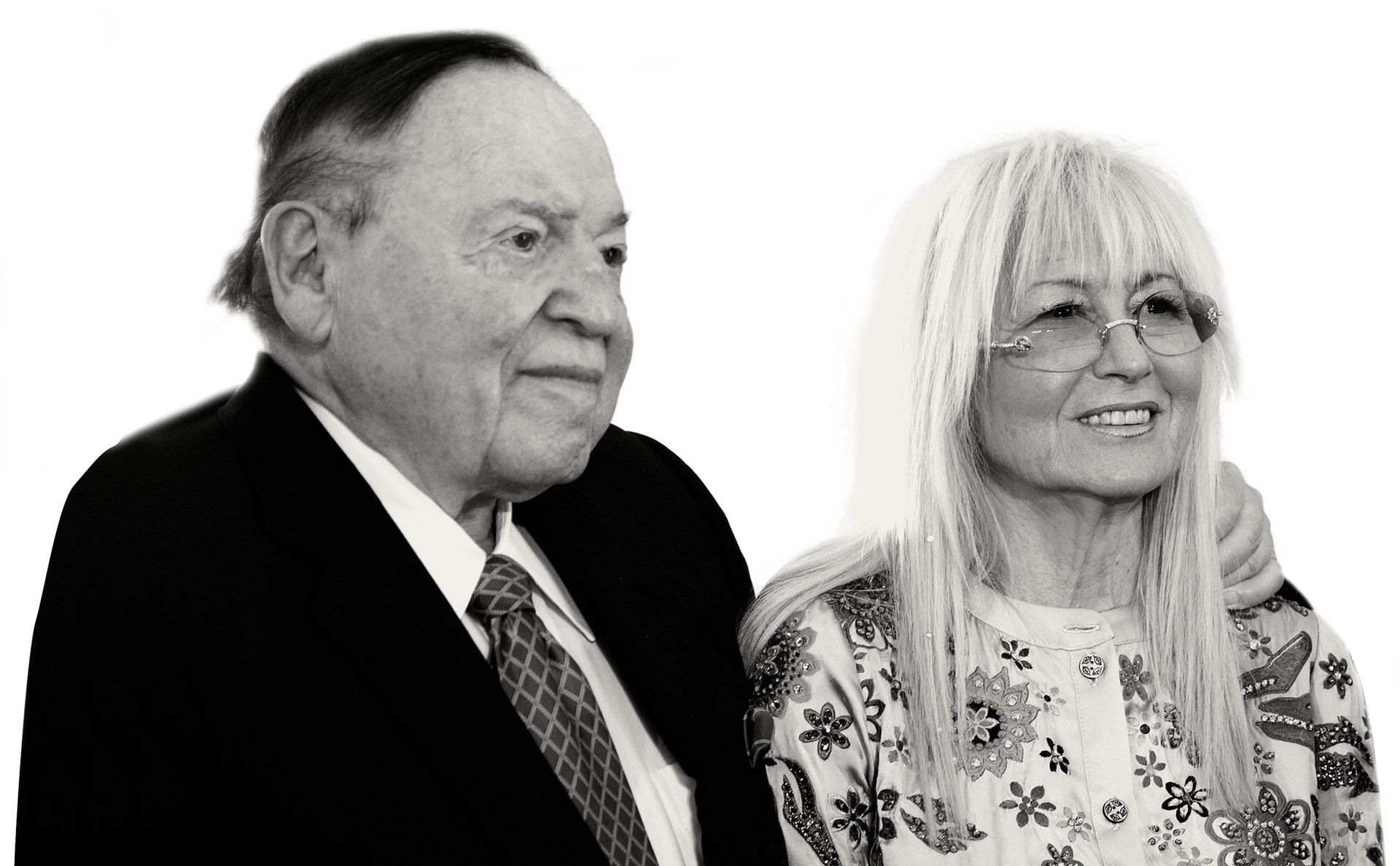 Sheldon and Miri Adelson.