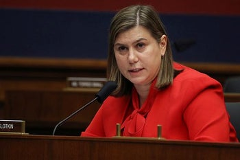 U.S. Rep. Elissa Slotkin at a House Homeland Security Committee meeting on September 17, 2020.