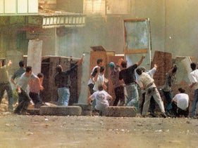 Riots in Hebron , June 10, 2000.