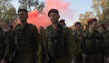 Brig. Gen. Yaron Finkelman, center, head of the operations division at the General Staff's Operations Directorate starting in October 2020.