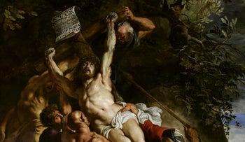 The Elevation of the Cross by Rubens