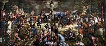 Crucifixion, by Jacopo Tintoretto  (1519–1594)