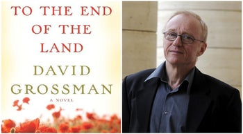 """""""To the End of the Land"""" and author David Grossman."""