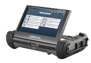 One of the models in Cellebrite's Universal Forensic Extraction Device product line.