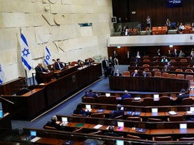The 35th Knesset, in Jerusalem, May 17, 2020.
