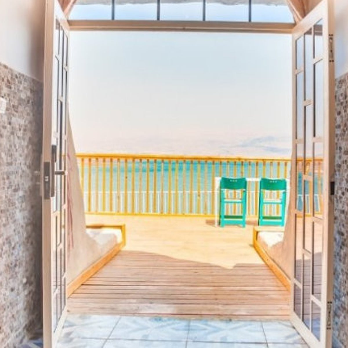 Biankini Village Resort on the Dead Sea's northern shore. Now a room could be yours for less than $750 a month.