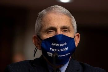 """Dr. Anthony Fauci. His voice is sadly absent from """"Totally Under Control."""""""