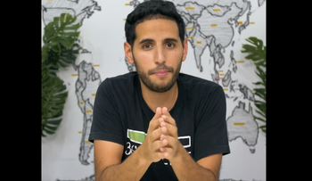 Nuseir Yassin has gained millions of followers through his travel videos on his page Nas Daily.