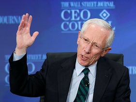 Stanley Fischer in Washington, 2013.