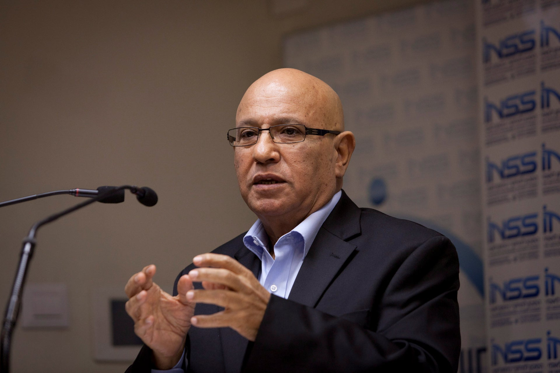 Meir Dagan, former chief of Israel's Mossad, in 2013. A week before he passed away, Dagan spoke to Zorella about the project in Romania