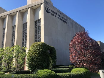 The Tree of Life synagogue in Squirrel Hill, Pittsburgh.