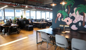 A Mindspace shared office in Tel Aviv, February 12, 2020.