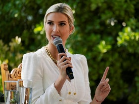 Ivanka Trump, daughter and adviser to U.S. President Donald Trump, speaks at a campaign event in Las Vegas, Nevada, U.S., October 12, 2020.