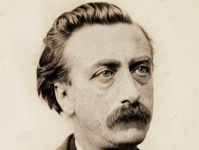 Eduard Douwes Dekker, aka Multatuli. In his official capacity, and later in his writing, he fought the exploitation and oppression of the Dutch East India Company.