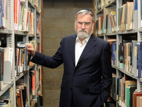 Former U.K. Chief Rabbi Jonathan Sacks, 1948-2020