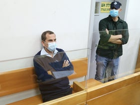 Yaakov Edri in Rishon Letzion's Magistrates Court, November 10, 2020.