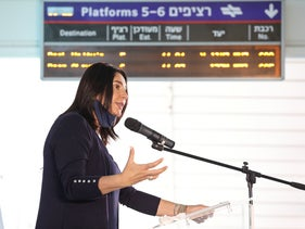 Transportation Minister Miri Regev, June 2020.