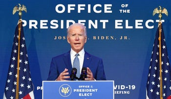 President-elect Joe Biden's 'most immediate priorities on the Israeli-Palestinian conflict are reconstructing what the Trump administration has torn asunder'