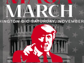 Tweet advertising the 'Million MAGA March' in Washington DC, attended by approximately ten thousand Trump supporters including far right groups such as the Proud Boys