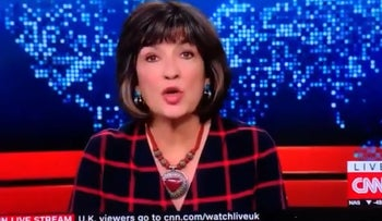 Christiane Amanpour apologizes for comparing Trump's 'assault on fact' to the Nazis