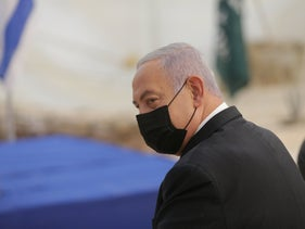 Benjamin Netanyahu in November 2020.
