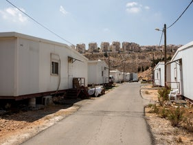 Jewish settlement of Kokhav Yaakov in the West Bank, 2016.