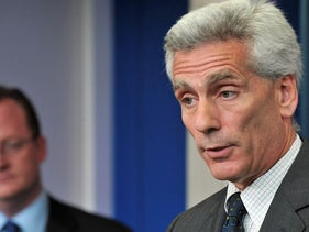 In this file photo Jared Bernstein, former Chief Economist and Economic Policy Adviser to US Vice President Joseph Biden, speaks at the daily White House briefing at the White House in Washington on June 8, 2009