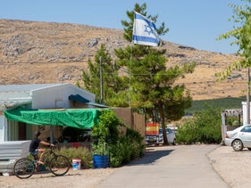The West Bank settlement of Mitzpeh Kramim, August 2020