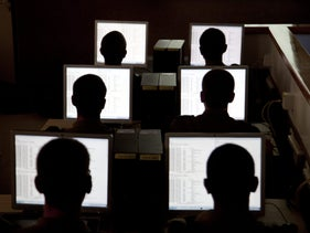 A defensive cyber course trains in Israel