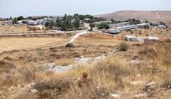 The Israeli settlement of Mitzpeh Kramim, the West Bank.
