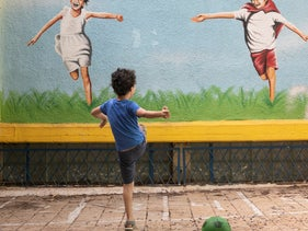 File photo: A child plays at a preschool in Givatayim.