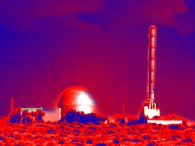 Israel's nuclear plant in Dimona.