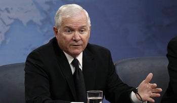 Robert Gates, pictured in 2010 when he was still serving as defense secretary under then-President Barack Obama.