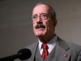 Rep. Eliot Engel during the impeachment inquiry led by the House Intelligence, House Foreign Affairs and House Oversight and Reform Committees in Washington, October 17, 2019.
