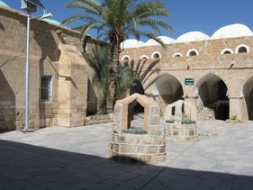 Nebi Musa, the West Bank holy Muslim site, where the party was held.