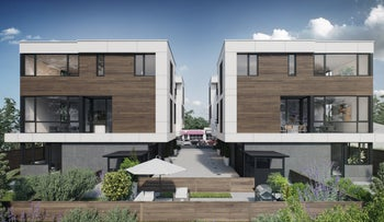 A housing complex built using Veev's technology.