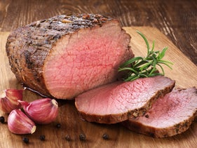 Roast beef. Using a pressure cooker turns out to be good for the planet.