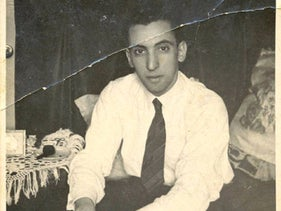 Maurice Ben Zaken, who was killed at Sobibor. Ben Zaken is a relative of Israeli archaeologist Yoram Haimi, who has done excavation work at the site of the death camp.