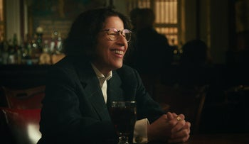 """Fran Lebowitz in the new Netflix show """"Pretend It's a City."""""""