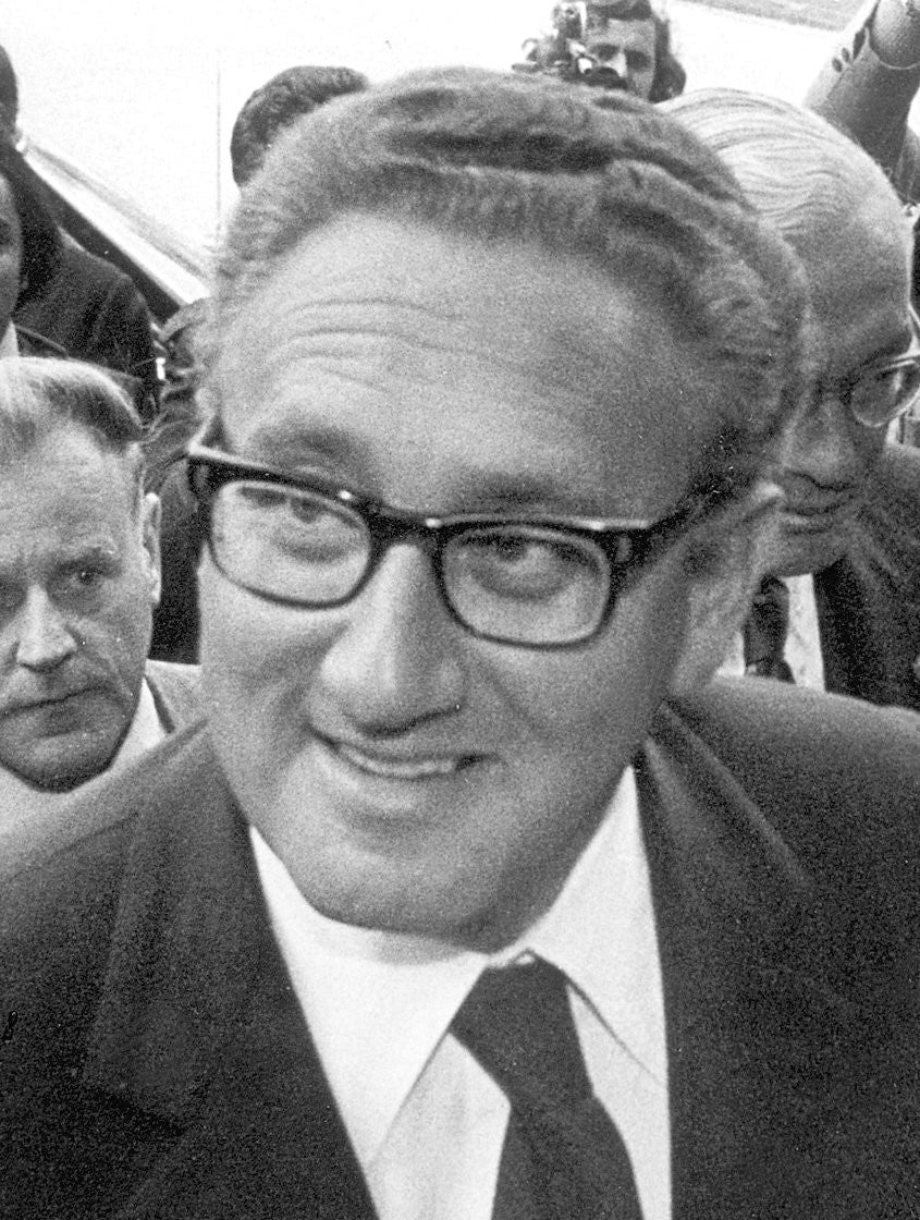 Henry Kissinger, who became President Richard Nixon's national security adviser in 1969.