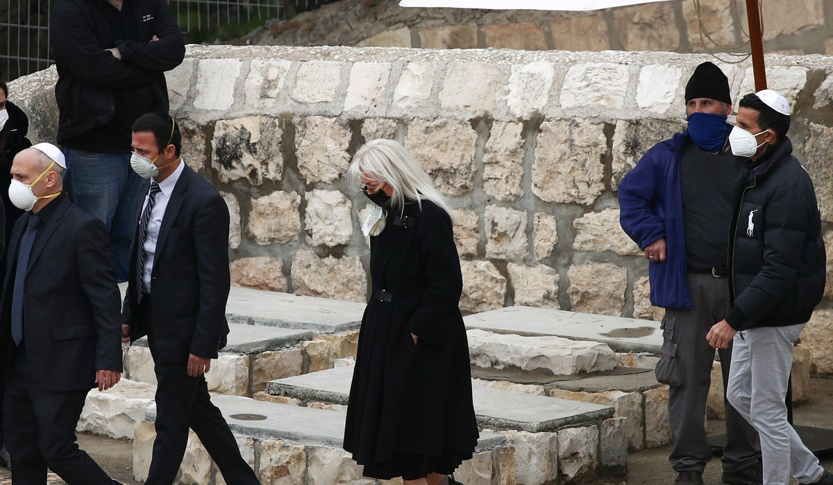Zionist, Sheldon Adelson, laid to rest on Jerusalem's Mount of Olives