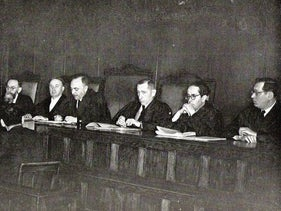 Israel's Supreme Court in 1952. After much foot-dragging and many debates in the cabinet, the first Sephardi justice would only be appointed to the bench 10 years later.