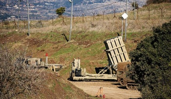 The Iron Dome Battery, developed by Rafael