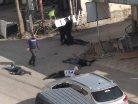 The victims of the killings a month ago in Kafr Aqab.