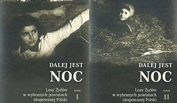 The cover of 'Dalej jest noc' ('Night without End').