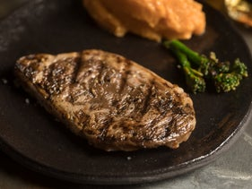 Aleph Farms' cultivated steak.