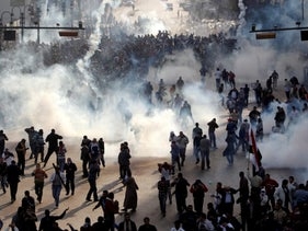 Protests rocked the streets of Egypt for months during the 2011 Arab Spring.